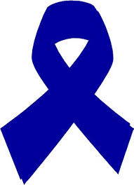 blue support ribbon quite pinteresting colon cancer support ribbons