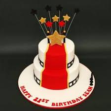 celebrate with cake hollywood themed cake cinema party