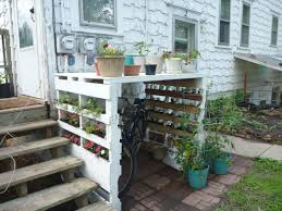 Pallet Garden Wall by I Took The Pallet Garden Idea And Built Myself A Bike Rack The