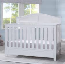 Convertible Crib White by Delta Children Bennington Elite Curved 4 In 1 Convertible Crib
