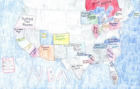 Map Of Nba Teams 2017 Mapmaking Contest Osher Map Library
