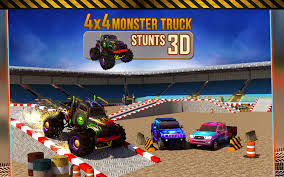 monster truck racing games play online 4x4 monster truck stunts 3d android apps on google play