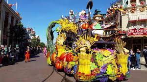 disneyland halloween disneyland paris halloween parade 2016 youtube