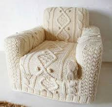 Sofa Covers White 30 Knitted Furniture Covers And Decorative Accessories Celebrating