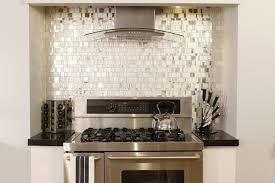 kitchen magnificent metal tile backsplash brick kitchen
