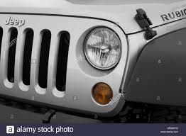 silver jeep rubicon 2008 jeep wrangler unlimited rubicon in silver headlight stock