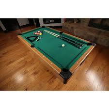 space needed for pool table 7 foot