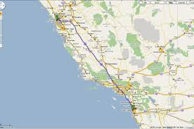 Maps San Diego by Map Of San Francisco To San Diego Michigan Map
