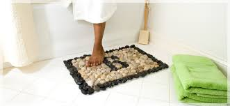 Zen Bath Mat River Rock Bath Mat Home Pinterest Bath Mat Bath And Display