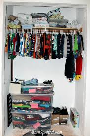 How To Organize Pants In Closet - how i organize my toddler u0027s clothing and closet momspotted