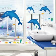 dolphin home decor fundecor diy home decor animals dolphin wall stickers for children