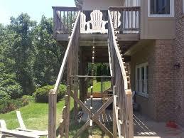 Banister Repair Replace Deck Stair Railing Repair Deck Railing And Stairsdeck