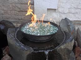 Rocks For Firepit Glass Rocks For Propane Pit Design And Ideas Pit Rocks