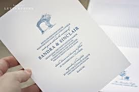 wedding invitations australia illustrative letterpress wedding invitations by bespoke