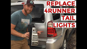 2003 toyota 4runner tail light how to replace install toyota 4runner tail light youtube