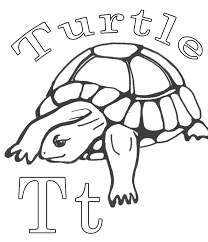 alphabet coloring pages printable turtle coloring pages printable alphabet coloring page turtle