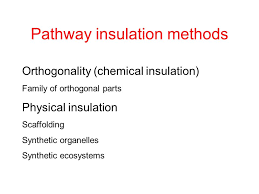 hard wired pathway physical insulation of pathways or functions how to build complex
