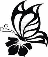 image result for butterfly silhouette side tribute wall ideas