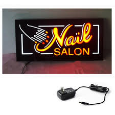 nail salon signs promotion shop for promotional nail salon signs