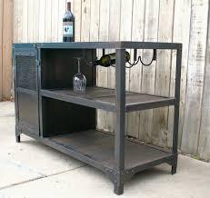 Metal And Wood Cabinet Metal Bar Cabinet U2013 Valeria Furniture