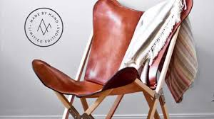Handmade Leather Chairs Argentinian Leather Tripolina Chair From The Citizenry Youtube