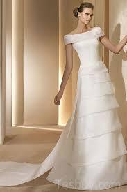cheap vintage wedding dresses the shoulder organza layer vintage wedding gown sale