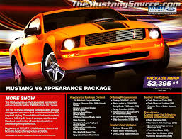 Black And Orange Mustang History Of The 2005 2009 Mustang The Classic Look Returns