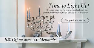 menorah candle holder menorahs and hanukkiahs for hanukkah judaica