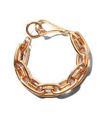 rose gold link bracelet images Lyst henri bendel henri link bracelet in metallic jpeg