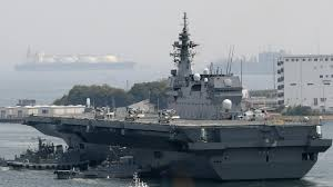 Flag Carrier Of Japan Chinese Alarm If Japan Rearms By Buying Us Fighter Jets