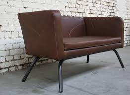 canap style industriel canapé cra cu010 giani desmet meubles indus bois métal et cuir