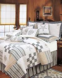 Seashell Queen Comforter Set Seashell Bedding Oceanstyles Com