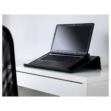 bräda laptop support black ikea
