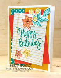birthday card set of 4 gingham collection this is an adorable