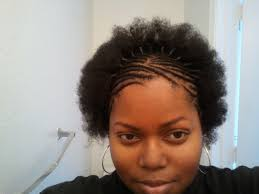 braids in front hair in back braided 4c natural hair unpurposely funny