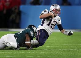 brady gives a refresh to eagles stun patriots in a bowl lii thriller the boston globe