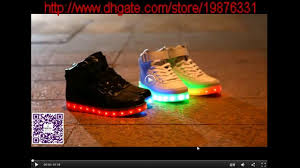 light up tennis shoes for adults dashion led light up sneakers casual shoes for adults youtube