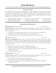 Executive Chef Resume Samples by Cover Letter Sample Resume Chef Sample Resume Chef Assistant