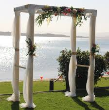 wedding arches newcastle 4 post timber arbor events2celebrate wedding planning styling