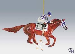 secretariat ornament winners of the crown series by breyer