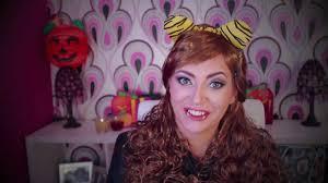Halloween Monster High Makeup by Clawdeen Wolf Halloween Monster High Makeup Monster High