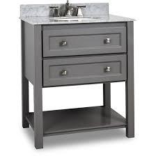 hardware resources adler single 31 inch grey transitional
