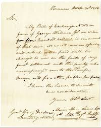 Lewis And Clark Expedition Map A Letter From Meriwether Lewis Requesting Payment For Supplies