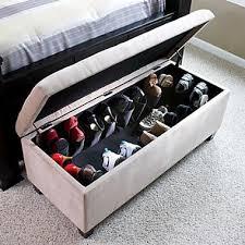 shoe storage ottoman bench entryway bedroom shoe storage organizer ottoman bench new furniture