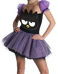 domo halloween costume purple badtz maru penguin dress hello kitty halloween costume