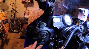 how to adjust aim lights on a sport bike 2002 r6 youtube