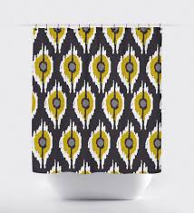 Crate And Barrel Shower Curtains Bathroom Grommet Shower Curtain Diy Shower Curtain Crate And