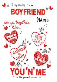 valentines day cards for him boyfriend s day cards funky pigeon