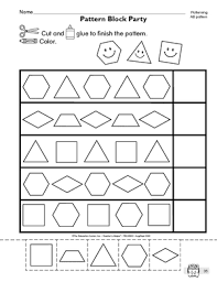 pattern math worksheets preschool ab pattern worksheets preschool worksheets for all download and