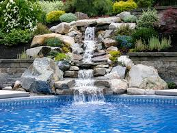 natural stone waterfalls by triad associates triad associates